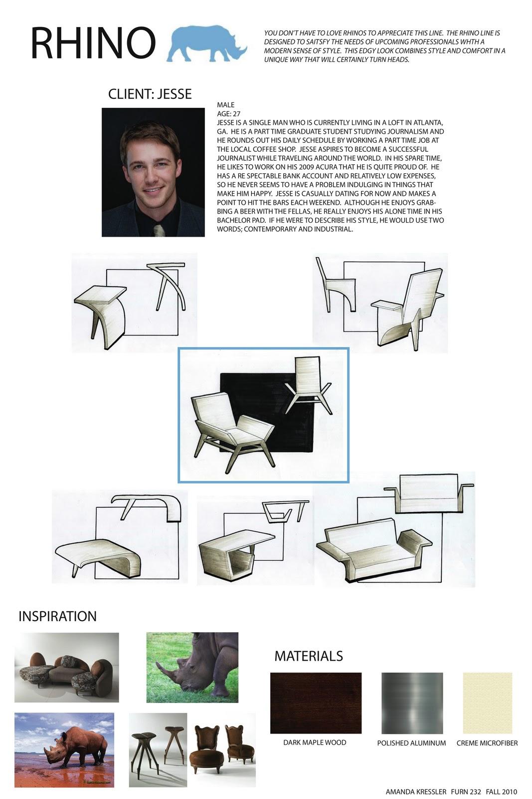 Rendering And Presentation For Furniture Design